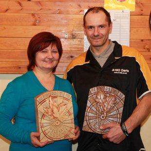2012. gada čempioni Biruta Skvirecka & Guntars Stipins